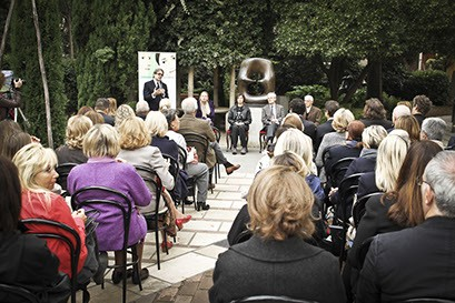 Presentazione doutdo 2016 al Peggy Guggenheim Collection.