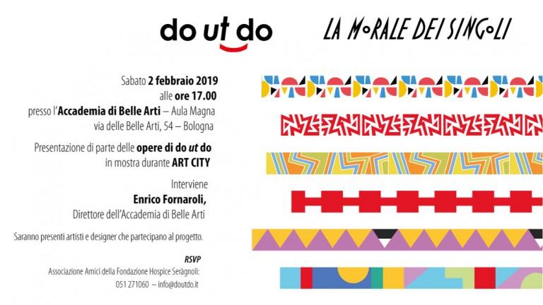 L'edizione di do ut do 2018-19 si presenta all'Accademia di Belle Arti